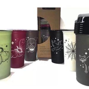 HTF Halloween 2019 Reusable Hot Cups Set